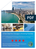Chicago Minimum Wage Task Force Report