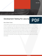 Coverity-0001-Development Testing for Java Applications