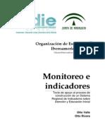 Monitoreo de Indicadoresprocesso de Gestion