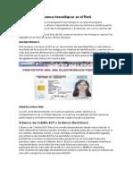 Avances Tecnológicos en El Perú
