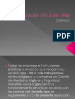 Resolución 2013 de 1986