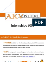 AKV Internship 2009