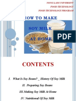 How to Make SoyMilk