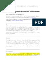 Comunidad, Organización y Complejidad Social Andinas en El Norte de Chile. Gundermann - Vergara.