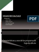 Hojas de Calculo Diapositiva
