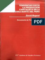 Tendencias Hacia La Produccion Capitalista en La Sierra Norte Del Peru - David Nugent