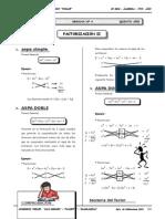 II BIM - 5to. Año - ALG- Guía 4 - Factorización II