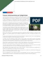 Crecen Intoxicaciones Por Plaguicidas - Portal Institucional. Dirección Del Trabajo. Gobierno de Chile
