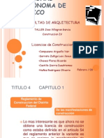 Licencias Construccion