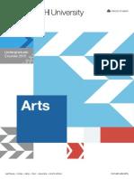 Arts - Undergraduate Courses 2015