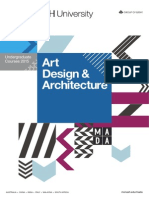 Art Design & Architecture - Undergraduate Courses 2015
