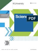 Science - Undergraduate Courses 2015