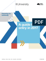 Preparing for University - Year 10 Guide 2017