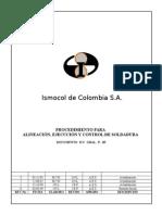 ICC GRAL P-09 Rev 3 Alineacion y Soldadura