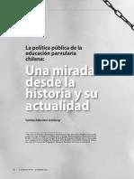 La política pública de la educación parvularia chilena