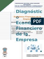 Diagnostico Economico Financiero de La Empresafinal