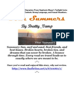 Four Summers by Bratty_Vamp COMPLETE