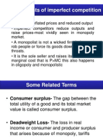 Economic Costs of Imperfect Competition