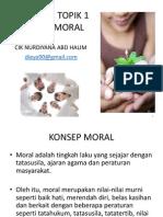 Konsep Dan Pembangunan Moral