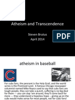 Atheism and Transcendence