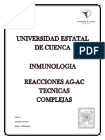 Informe de Reacciones Ag-Ac Técnicas Complejas