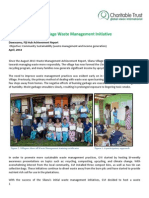GVI Fiji Achievement Report April 2014 -Dawasamu.clean Silana Commitee