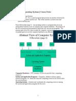 CMPS 431 OS Course Notes
