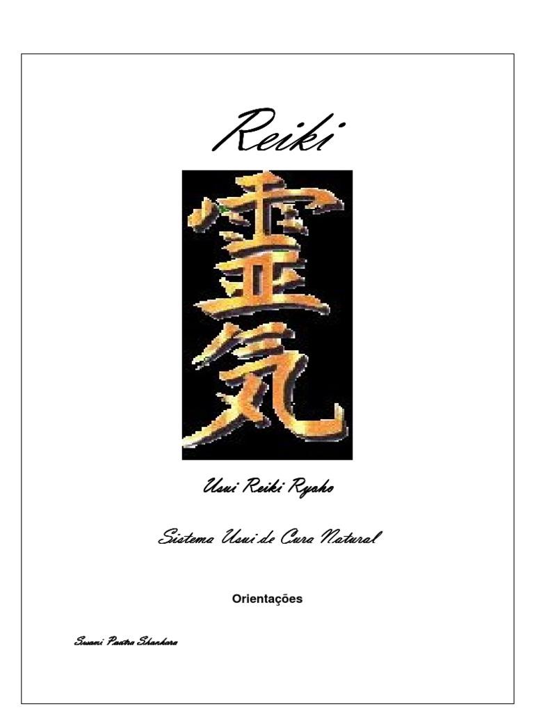 7274981d2bb Usui Reiki Ryoho - Apostila Primeiro Grau