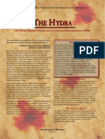 New World Bestiary - Hydra