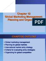 Ch 12 Global Marketing Management