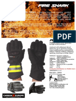 Carbon-X Fire Shark Glove