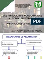 PRECAUCIONES PACIENTES AISLADOS