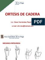 Clase Ortesis de Cadera