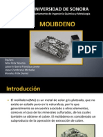 Presentacion Molibdeno