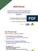ESD Schutzprogramm Regio Vortrag Handout