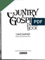 Country Gospel Piano Book