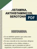HISTAMINA,ANTIHISTAMINICOS, SEROTONINA