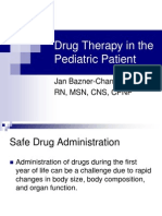 Drug Therapy in the Pediatric Patient