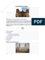 Arquitectura virreinal peruana