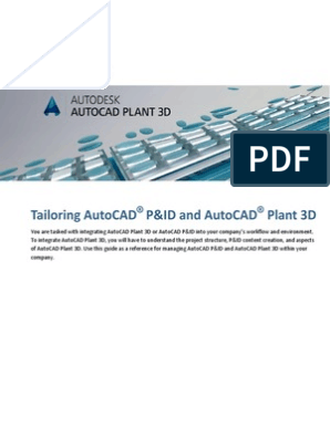 Tailoring AutoCAD P&ID and Plant 3D | Microsoft Sql Server