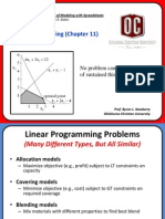 Linear Programming Basics