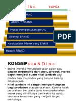 Branding - Merk