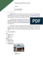 Praktikum Fermentasi Alkohol