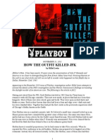 """""""HOW THE OUTFIT KILLED JFK"""" by Hillel Levin"""