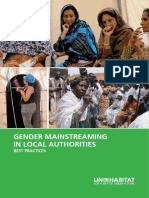 Gender Mainstreaming in Local Authorities - Best Practices