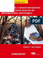 Promovendo o Desenvolvimento Econômico Local Através Do Planejamento Estratégico