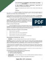 Criminal Law I Notes by Rene Callanta