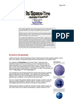 Is Space-Time Actually a Super-Fluid