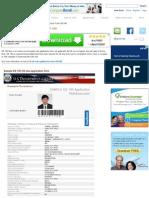 Sample US Visa Application Form DS-160