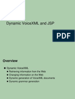 9 - Dynamic VoiceXML and JSP